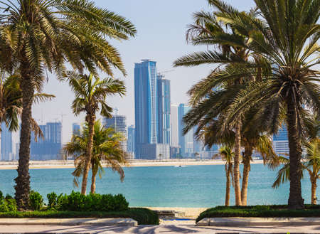 united arab emirate: SHARJAH, UAE - OCTOBER 31: Sharjah - third largest and most populous city in United Arab Emirates, on October 31, 2013.  It is the most industrialized emirate in UAE.