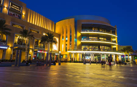 DUBAI, UAE - NOVEMBER 13: World's largest shopping mall based on total area and sixth largest by gross leasable area, November 13, 2013 in Dubai, UAE Stock Photo - 27224702