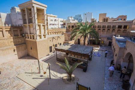 DUBAI, UAE-NOVEMBER 9, 2013: Heritage Village. It is the largest historical museum in Dubai.