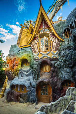 DA LAT, VIETNAM - NOV 26: Hang Nga guesthouse, popularly known as the Crazy House� on Nov 26, 2014, in Dalat, Vietnam. It is designed and constructed by Vietnamese woman architect Dang Viet Nga