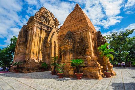 linga: Po Ngar Cham Towers in Nha Trang, Vietnam