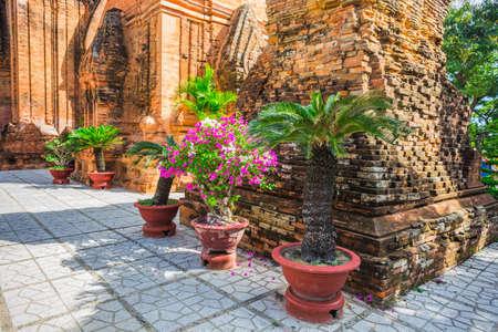 Po Ngar Cham Towers in Nha Trang, Vietnam photo