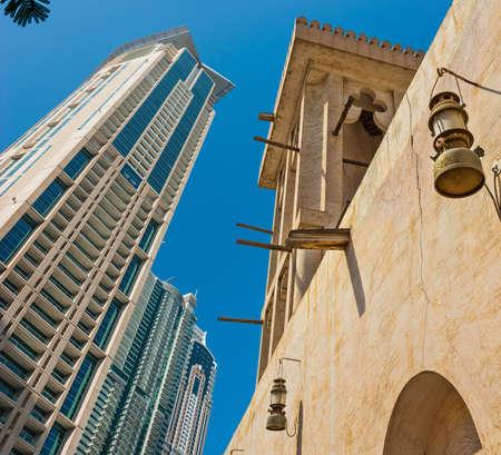 sharjah: Arab Street in the old part of Sharjah, UAE