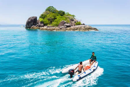 chang: Thailand. Koh Chang. March 30, 2015. National Park Mu Ko Chang, established in 1982, is one of the main reserves of Thailand. It includes part of the island of Koh Chang and 45 islands (600 km2) Editorial