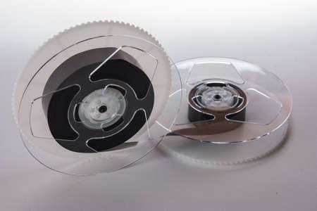 grabadora: video cassette de una grabadora de cinta antigua