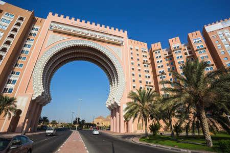ibn: DUBAI, UAE - NOV 2: Movenpick Ibn Battuta Gate Hotel in Dubai. NOV 2, 2013 in Dubai, United Arab Emirates