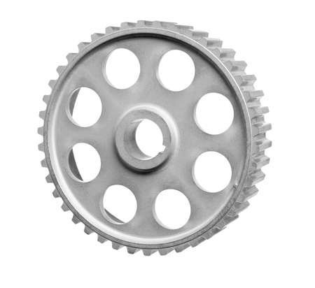 mechanisms: gears of mechanisms isolated on a white background