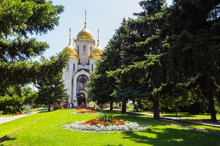 major battle: Volgograd, Russia - July 4, 2016: Mamaev kurgan. Hero City Volgograd, Russian Federation. Editorial