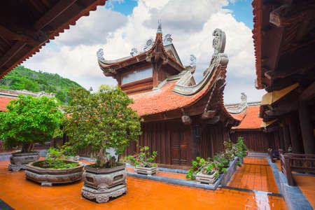 Buddhist temple in Vietnam, on the island of Vinpearl, Nha Trang