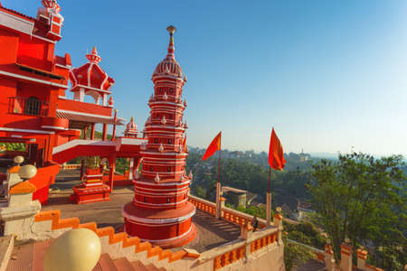 India, Goa, 8 March 2017.  Maruti Temple (Hanuman Temple) in Panjim Stock Photo