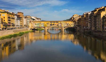 Ponte Vecchio in Florence , Italy Stock Photo