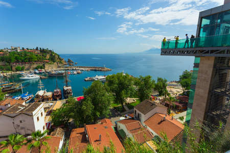 Turkey. May 17, 2017 The ancient port of the old city of Antalya