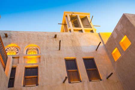 DUBAI, UAE - OCT 30: Arab Street in the old part of Dubai, UAE