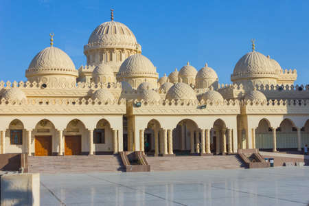 El Mina Masjid Mosque in Hurghada, Egypt