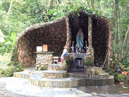 mother mary:  The Grotto of Mother Mary