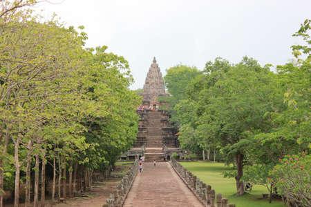 rung: Phanom Rung Castle in Thailand