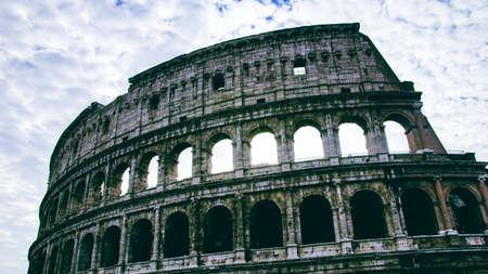 Roma: Roma Colosseum italy Stock Photo