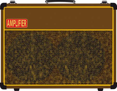 Guitar Amplifier Stock Vector - 15190365