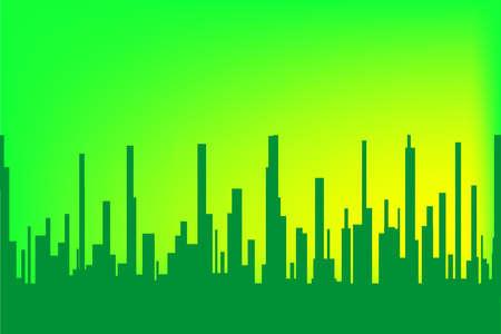 urban sprawl: Green Cityscape