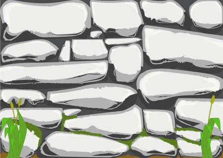 stonewall: A stone wall