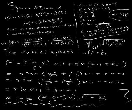 untidy: A very untidy blackboard