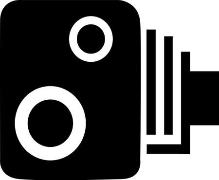 Speed Camera Stock Vector - 14957481