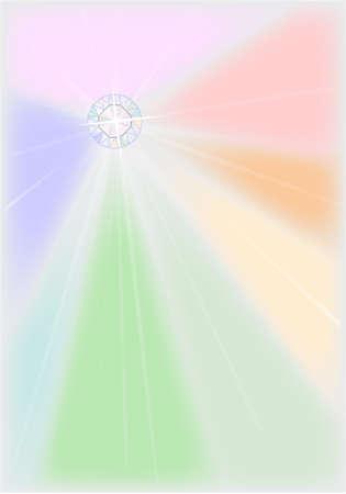 Diamond Starburst  Ilustrace