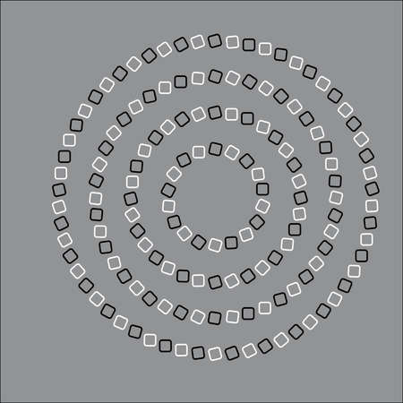 illusionary: Round  Moving  Optical Illusion