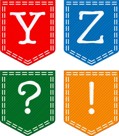 Alphabet Letters Stock Vector - 15569794