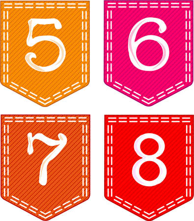 Numbers Stock Vector - 15569795