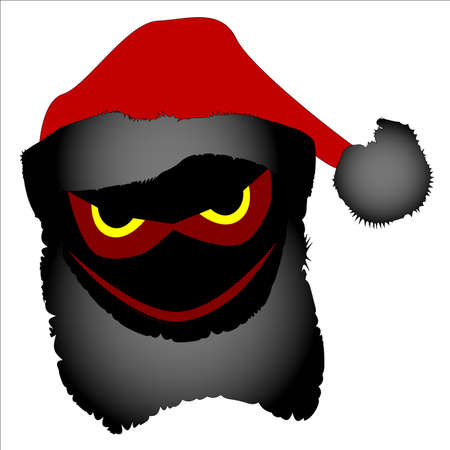 alter: The alter ego of Father Christmas, an evil Santa