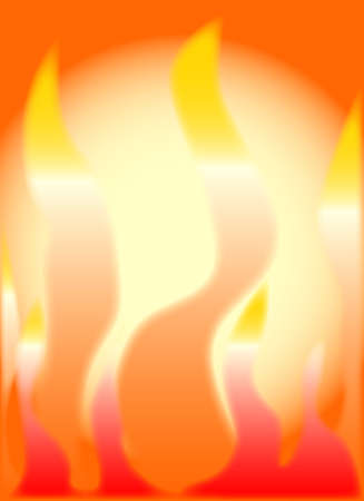 hades: An abstract fire type effect of a  burning backdrop  Illustration