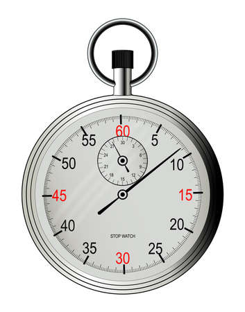 A typical stop watch Illustration
