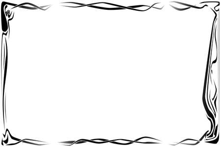 40 s: Page border Illustration