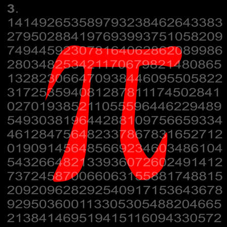 constant: The constant Pi with its value to several places