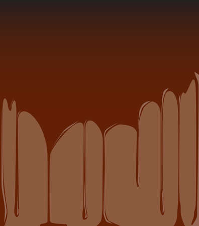 dripping chocolate: A background of dripping chocolate