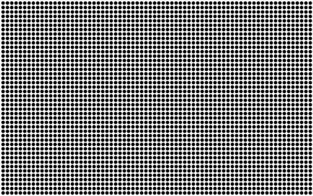 half tone: A half tone image of black spots set on a white background