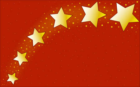star spangled: A deep red star spangled Christmas background