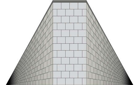 mormon: A wall with both sides going into infinity