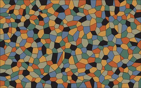 ceiling design: Un mosaico de colores g�ticos italianos establecer como fondo Vectores