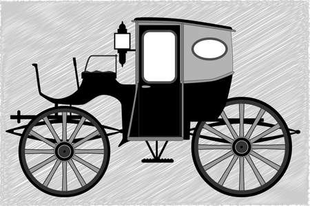 edwardian: A typical Victorian or Georgian style British carriage