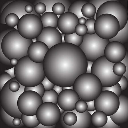 cannon ball: A collection of metal ball bearings as a background