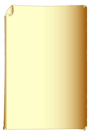 A blank paper poster ready to be inserted to a background Image Çizim