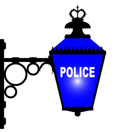 bobby: The blue light found outside of British police stations