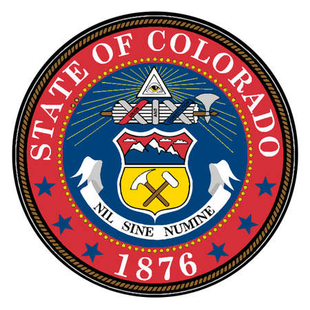 state of colorado: The seal of the United States state of Colorado