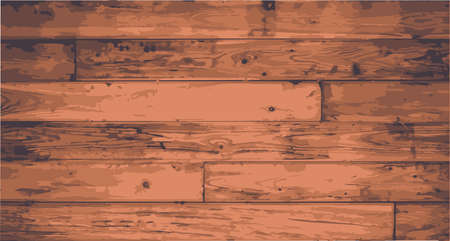 floorboards: Worn floorboards with exagerated grain and grunge Illustration