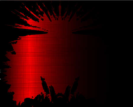 gig: A red grunge style splash background Illustration