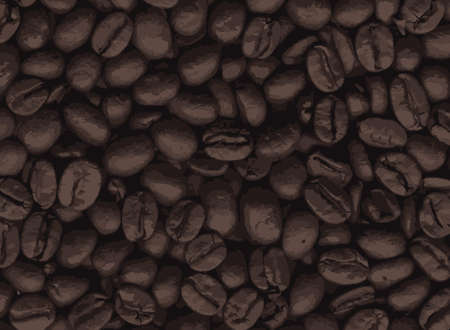 A collection of fresh coffee beans