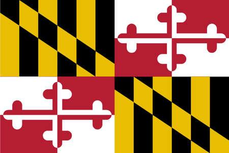 메릴랜드 주 깃발의 미국 상태