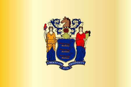 new jersey: New Jersey State Flag